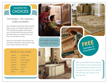Anderson Carpet One brochure