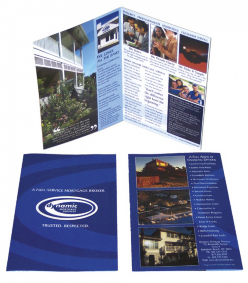 Dynamic Mortgage brochure