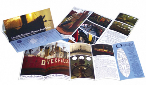 Overfalls Maritime Museum brochure